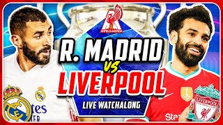 REAL MADRID 3-1 LIVERPOOL LIVE WATCHALONG