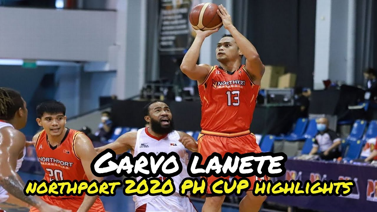 Download Garvo Lanete NorthPort 2020 PH CUP Highlights