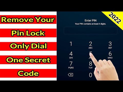 Unlock Pin Lock On Android 2020 - By Tech Same Tv