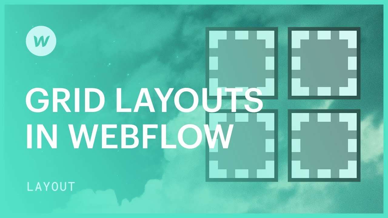 CSS grid layouts in Webflow — Visual layout tutorial