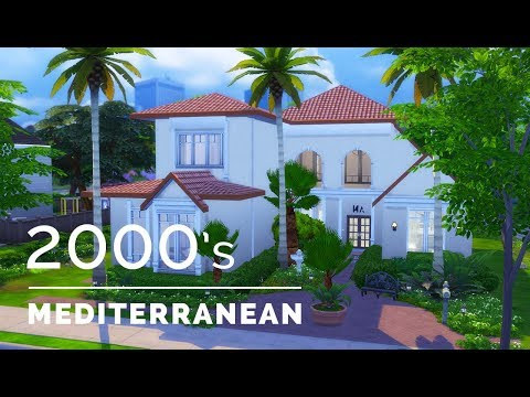 Sims 4  |  Decade Build Series  |  2000s Mediterranean Suburban