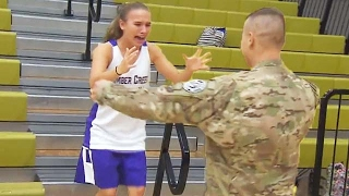 Welcome Home Soldier Surprise Homecoming Compilation 21