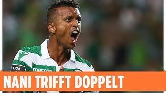 Nani mit Doppelpack | Sporting Lissabon - Vitoria Setubal 2:1 | Highlights | NOS