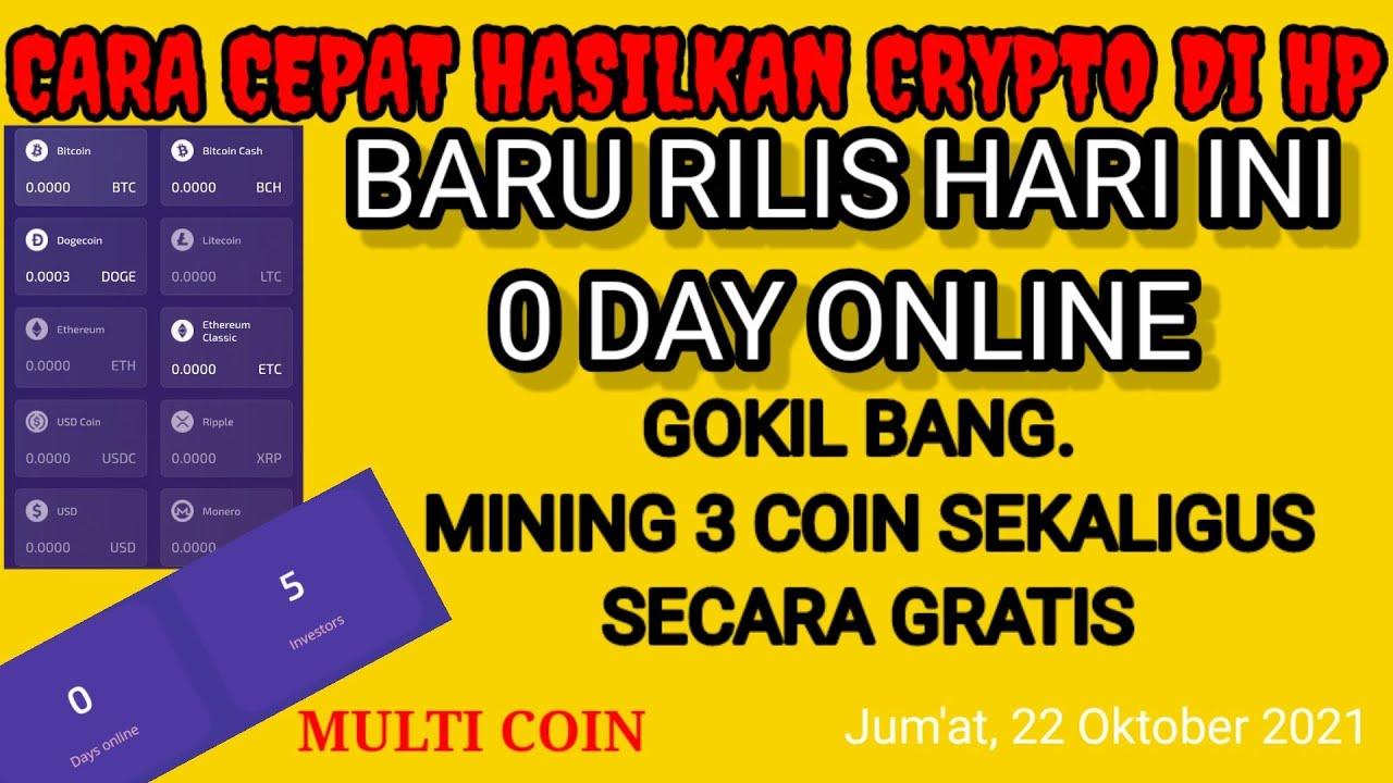 Download Baru Rilis hari ini situs mining terbaru 2021. mining 3 coin sekaligus secara gratis tanpa deposit