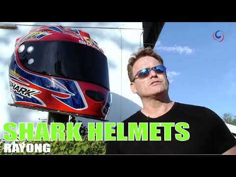 Ride Thailand - Shark Helmets manufacture for their huge world market out of Rayong!