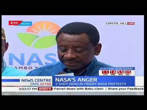 Senator James Orengo explains the situation in Kisumu of how police are killing protesters