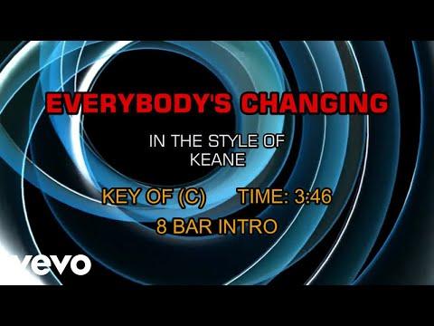 Keane - Everybody's Changing (Karaoke)