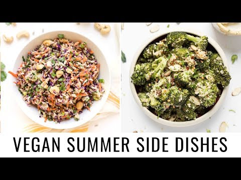 MUST-TRY SUMMER SIDE DISHES   Vegan & Gluten-free ☀️