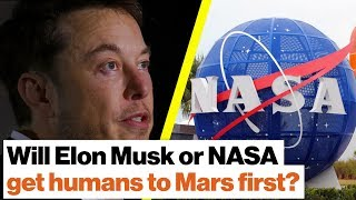 Will Elon Musk or NASA get humans to Mars first? | Michio Kaku