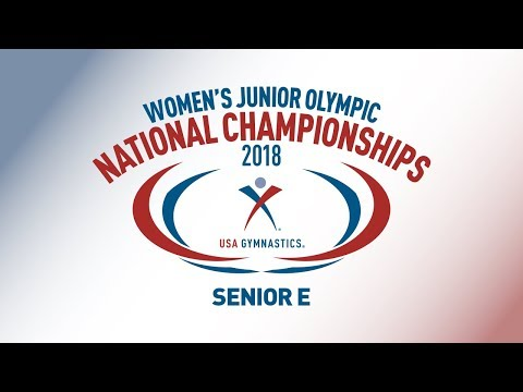 2018 Women's Junior Olympic National Championships - Senior E
