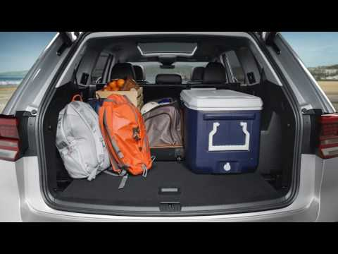 VW Atlas Cargo Space and Fold Down Seating