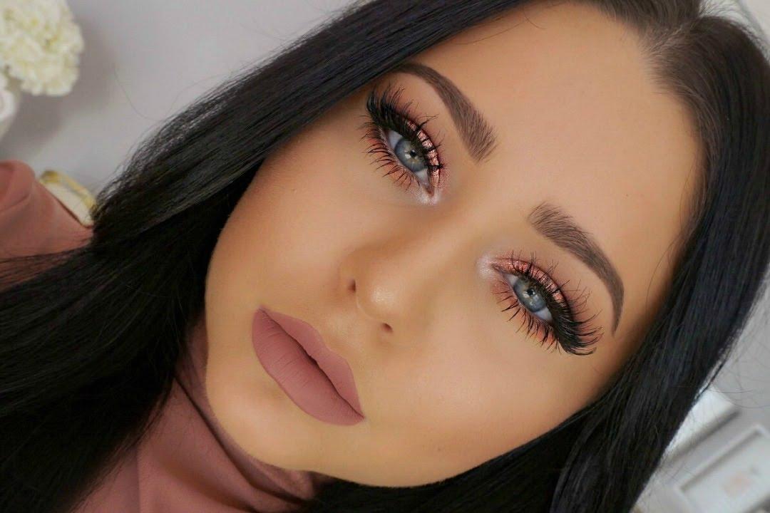 Full Face Glam Makeup Tutorial Youtube