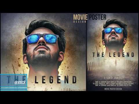 Movie poster in Adobe photoshop Full  tutorial thumbnail