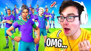 I Got 100 SOCCER SKINS to Scrim for $100 in Fortnite... (sweatiest lobby ever)