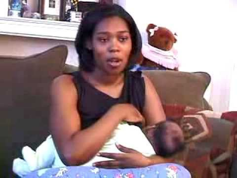 Girl breast feeding video