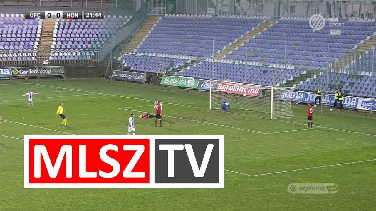 Tischler Patrik gólja az Újpest FC – Budapest Honvéd mérkőzésen