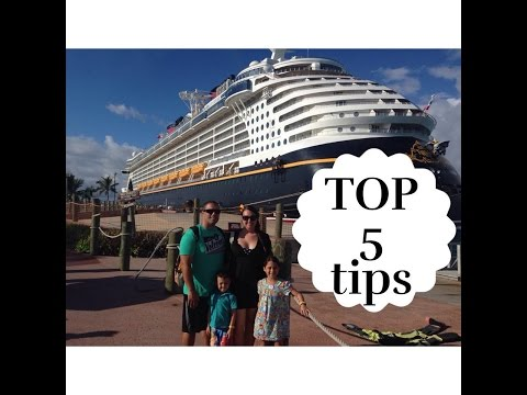 Top 5 Disney Fantasy Cruise Tips - Elizabeth Medero