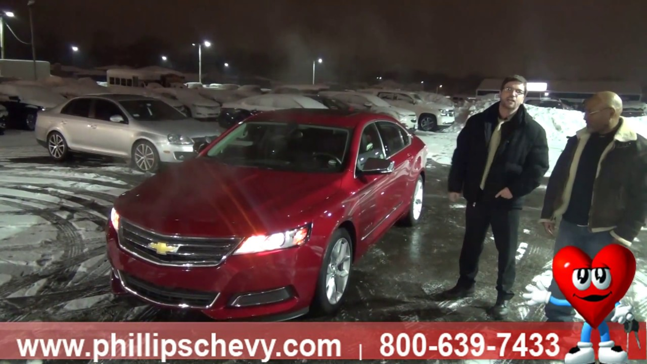 Chevy Impala Customer Review Phillips Chevrolet Chicago New - Phillips chevy car show
