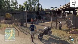 Watch Dogs 2 - The Fox (Finish Operation: Shadow) - AIDEN PEARCE EASTER EGG