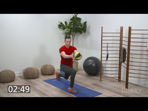 10-Minute Medicine Ball Workout | WebMD