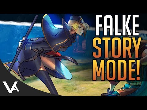 SFV - Falke Story Mode! All Cutscenes In English/Japanese For Street Fighter 5 Arcade Edition