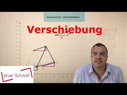 Verschiebung | Geometrische Figuren Verschieben | Mathematik | Geometrie | Lehrerschmidt