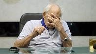 رشوان توفيق يتذكر زوجته باكيا: عشت معها 62 سنة.. كانت حياتي