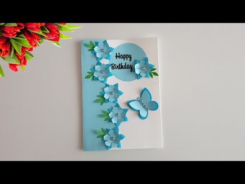 DIY Birthday card/ Beautiful Handmade Birthday Card Ideas