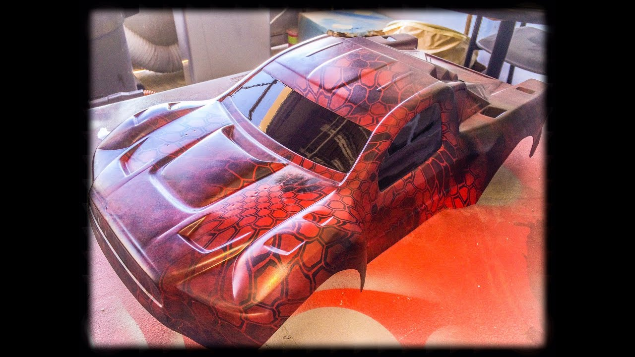 Rc Car That Has Been Hydro Dipped Youtube