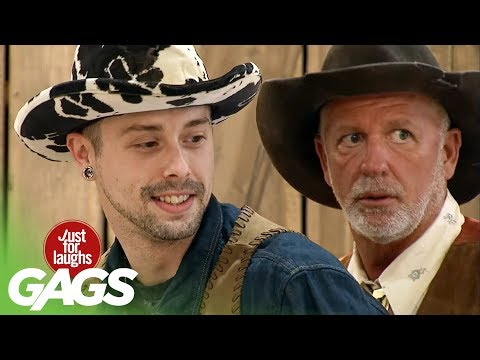 Brokeback Mountain Prank - Just For Laughs Gags