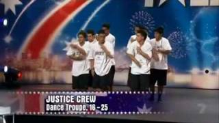 Repeat youtube video Justice Crew - Australia's Got Talent Audition.