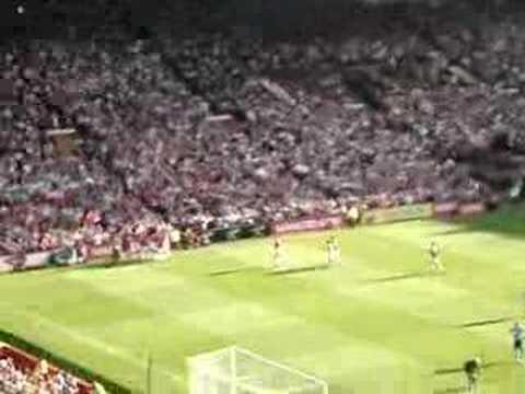 Man Utd vs Tottenham Ryan Giggs Goal Old Trafford