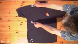 Fold a Shirt in less than 2 Seconds!