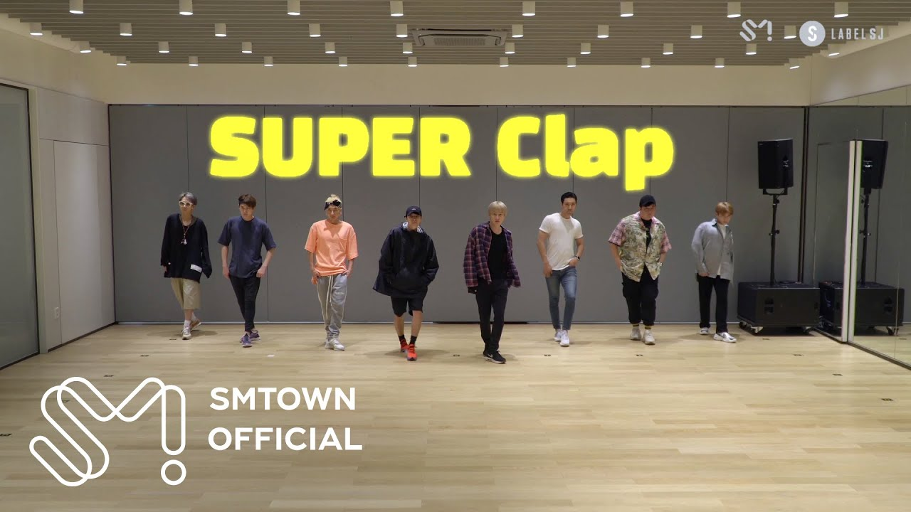 SUPER JUNIOR 슈퍼주니어 'SUPER Clap' Motion Graphics Dance Video #Spoiler