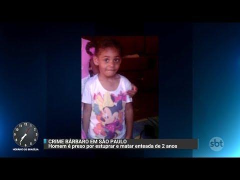Homem é acusado de estuprar e matar enteada em SP | Primeiro Impacto (19/10/17)
