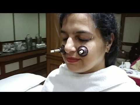 9: Face, Beauty Candle Moxa Technique - Moxibustion & Acupuncture Classroom Training Sample