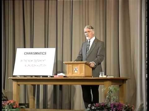 Charismatics and Evangelicals Part 1 - Charismatics Characterised