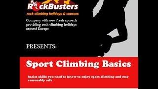 Sport Climbing Basics