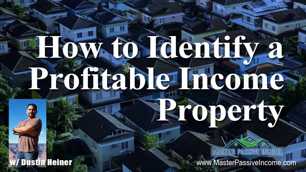 how to make money off income property