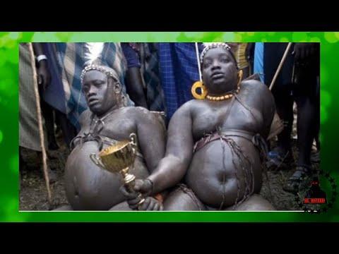 A TRIBO OBESA DA ETIÓPIA E SUA TRADIÇÃO ESTRANHA เผ่า
