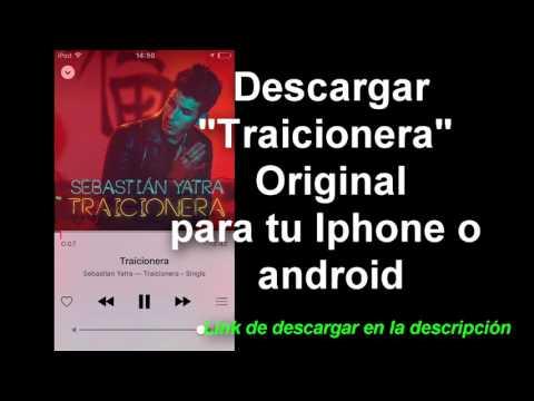 Descargar canción Traicionera Sebastian Yatra Original/ Download