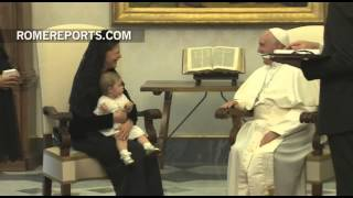 Pope meets with Queen Silvia of Sweden