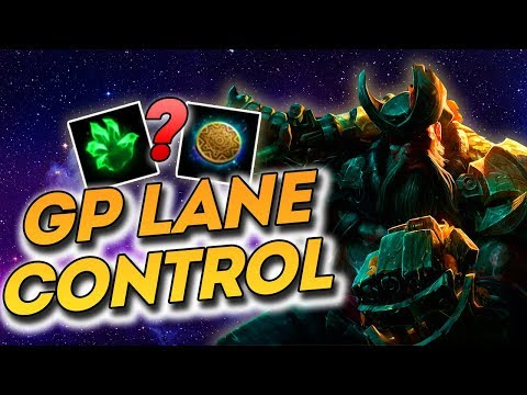 How to Keep Lane Control as Gangplank! (League of Legends Patch 9.14)