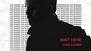 Cody Carnes - Wait Here (Audio)