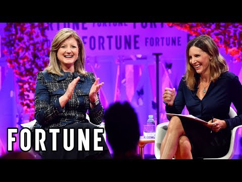 Arianna Huffington Discussing Thrive-ing and Driving Change I MPW 2017