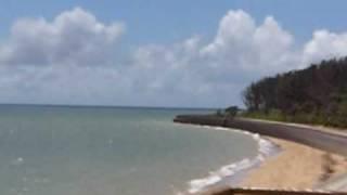 ビーチホテルサンシャインから見た海