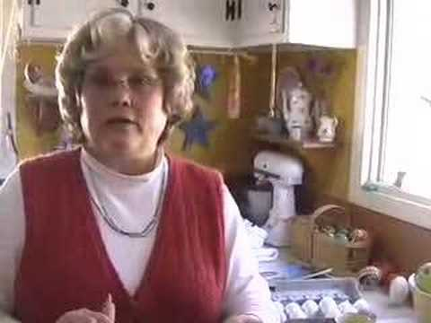 Nancy Peters Ukrainian Easter Egg Decorating