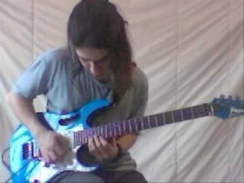 Steve Vai - Tender Surrender - Guitar performance by Cesar Huesca