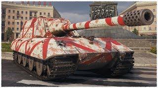 Jagdpanzer E 100 • B G DADDY • WoT Gameplay