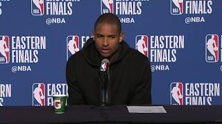Al Horford Postgame Interview | Celtics vs Cavaliers Game 4